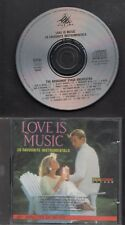 STAR INC Love Is Music CD EASY LISTENING ORCHESTRA & SYNTHESIZER