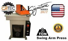 NEW 20-TON Swing Arm Clicker Press Signature Series 2017 from CJRTEC