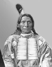 METAL MAGNET Red Cloud aka Mahpiya Luta Lakota Sioux Native American Indian
