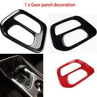 Carbon Fiber Gear Shift Panel Dekoration Abdeckung für Dodge Challenger2015-2020