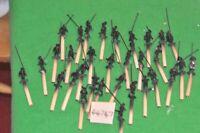 28mm renaissance / generic - landsknecht plastic 32 figures - (44747)