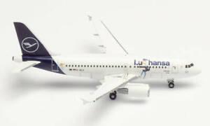 Herpa Wings 534451 Lufthansa Airbus A319 'Lu' 1/500 Scale Diecast Model