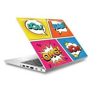 Pop Art Skin Sticker Wrap to Cover HP Probook 430 G5 G6 Top Lid Australian Made