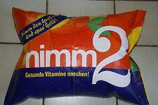 Nimm 2 Aufblasbares Kissen,Werbegeschenk an Verkäufer,1975/1976 Storck Sammler