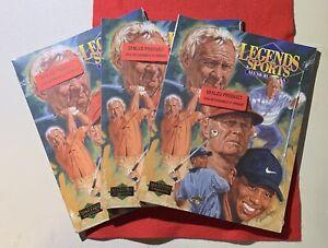 2001 Legends Sports Memorabilia Golf Masters Legends Sealed Book /10000