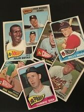 1965 Topps Baseball Singles - Pick Your Card -- 371 to 598 -- High Numbers