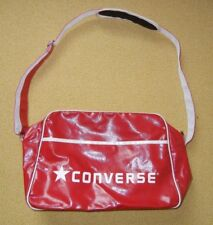 Retro CONVERSE Bright Red Athletic GYM BAG Basketball Soccer Shoes Duffle Travel