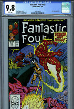 Fantastic Four #313 (1988) Marvel CGC 9.8 White Pages Mole Man Appearance