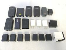 Lot Of 21 Mixed Brands Usb Port Ac Power Adapter Charger