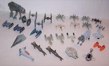 29 Star Wars Micro Machines Action Fleet Vehicles - AT-AT - Slave 1 - Falcon -
