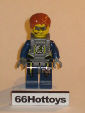 Lego Agents 8968 Fuse Minifigure New