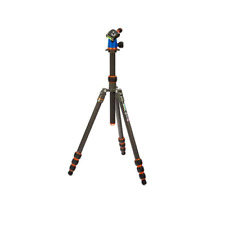 3 Legged Thing Punks Billy Carbon Fibre Tripod with Airhed Neo - Blue