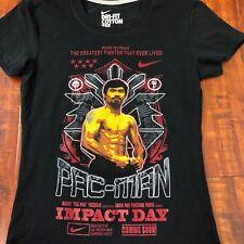 Nike Dri-Fit Manny Pacquiao Pac-ManT Shirt  Impact Day RARE Size XS
