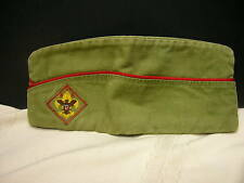 Vintage Boy Scout Hat Green Medium 6 3/4 - 6 7/8