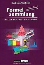 Duden Formelsammlung bis zum Abitur - Mathematik - Physi... | Buch | Zustand gut