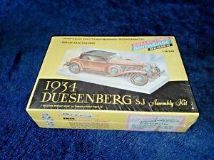 1934 Duesenberg SJ, Renwal 1/48 Scale #151:99 Vintage from 1966, Factory Sealed!