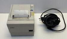 Epson Tm-T88Iii Pos Thermal Receipt Printer Ps-180 Power Supply