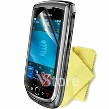 5 PZ FILM PROTECTOR SAVE SCREEN LCD FOR RIM BLACKBERRY 9800 TORCH