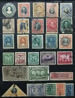 1885-1950 > ECUADOR > Multi Condition Vintage Stamps.