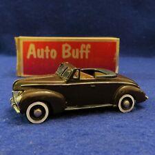 Auto Buff Models #9 1940 Ford Convertible Hand Built model car Original Box 1/43