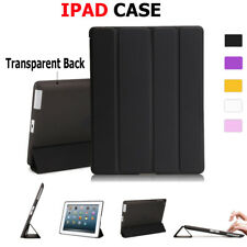 Clear Hard Case Heavy Duty Smart Cover For iPad 2 3 4 Mini 4 Pro 9.7 Air 1 2 New