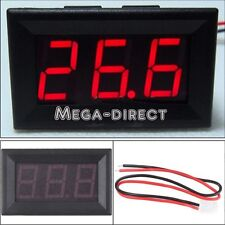 #1071  DC 4.5-30V  Digital Display Voltmeter 3Bit Red LED Voltage Panel Meter