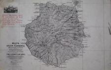 Postal MAPA DE GRAN CANARIA. GRAN CANARIA.