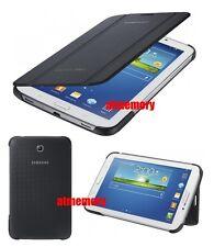 "Genuine Samsung Galaxy Tab3 3 10.1"" Book Cover Flip Case Stand Grey P5210 P5220"