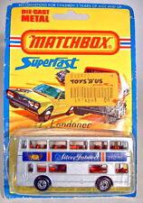 """Matchbox SF Nr.17B The Londoner """"Silver Jubilee IV"""" Sondermodell silber"""