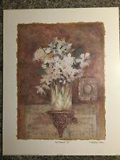Charlene C Winterle Olson Lithograph USA 1998 En Passsant II Art Print Matted