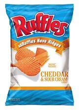 Ruffles Cheddar & Sour Cream Potato Chips, 8.5 oz Bag   (Pack of 3)