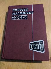 1965 TEXTILE MACHINERY CATALOGUE 553 PAGES TMI