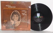 NINA SIMONE Let It All Out LP Vinyl Stereo The Ballad Of Hollis Brown PLAYS WELL