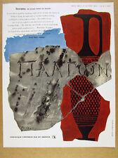 1952 Gyorgy Kepes art Socrates Plato Apology theme CCA vintage print Ad