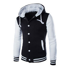 Mens Boys Varsity Letterman University College Baseball Jacket Baseball Jacket