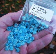Heavy sink Fishing Premium Trout/Salmon/Steelhead Beads 8mm 10ct glow roe blue