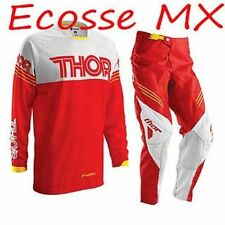 Vêtements de cross rouges Thor