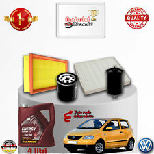 Filtres Kit D'Entretien + Huile VW Fox 1.4 55KW 75CV à Partir De 2006->