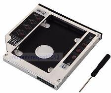2nd SATA Hard Drive HDD SSD Caddy for Fujitsu LIFEBOOK AH531 AH531A AH531B A531