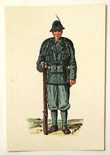 Cartolina Serie Uniformi Storiche 5° Reggimento Alpini - N.16 Alpino In Tenu