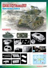"""1/35 Dragon M4A1(76)W Sherman """"Operation Cobra"""" #6083"""