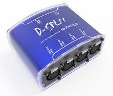 ENTTEC D-Split 70575 DMX Splitter Optical Isolator Controller 4 Outputs 5 Pin