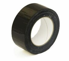 NEW Black Strong Gaffa  Black tape size :- 50mm X 50M