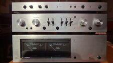 Rack Luxman Pre 5C50 - Finale 5M21 - Control Unit 5F70 - Peak Meter 5E24