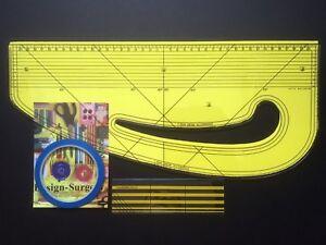 Pattern Maker + Fashion Master + Seam Ruler + Draping Tape - Design-Surgery®