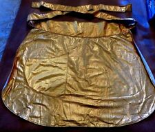 SHIMMERY METALLIC APRON * SILVER OR GOLD * THE KLASSY - KOVER UP by Cestino