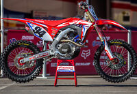 Honda Ken Roczen Replica HRC Honda CRF 450 2020 Plastic Kit UFO Replica Red