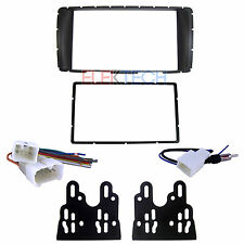 Car Dash Mounting Installation Radio Replacement 2-DIN Kit for Toyota Hilux