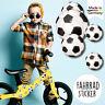 Fahrradaufkleber 38 Fußball Junge Fahrrad Sticker Fahrraddesign Kinderfahrrad