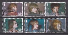 NVPH Nederland Netherlands nr 2776 a - 2776 f used Kinderzegels 2010 Pays Bas